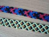 Плетение из разных материалов